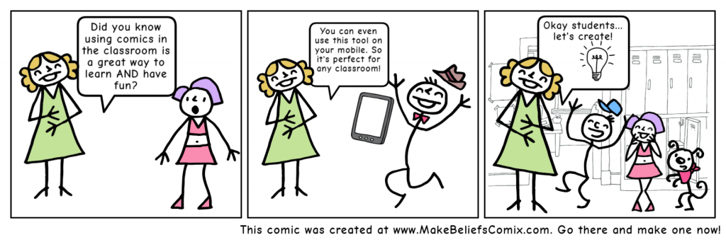 Example of a comic